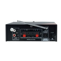Усилвател Стерео 120 W , Bluetooth, Mp3 Player, FM Radio, USB, SD - UKC PA-325BT