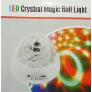 LED CRYSTAL MAGIC BALL LIGHT с вградена батерия