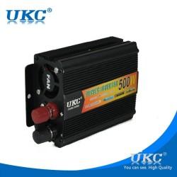 Висококачвствен инвертор за камион UKC 24V-220V, 500W