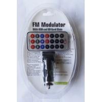 FM трансмитер/модулатор за кола - SD,TF & USB