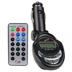 MP3 FM трансмитер за кола  - SD & USB Flash