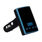 MP3-FM трансмитер за автомобил с Bluetooth,2 х USB, Micro SD, AUX - BT-S6