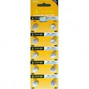 10 броя алкални батерии тип AG3/LR41